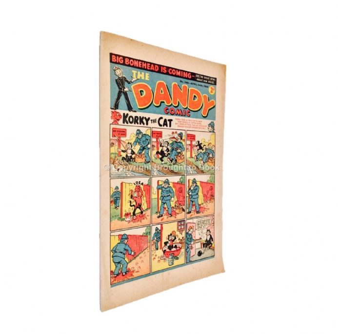 The Dandy Comic Number 368 April 24th 1948 Published by DC Thomson